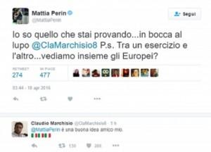 """Perin a Marchisio: """"Ci vediamo Europei insieme?"""" E lui..."""