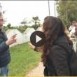 VIDEO Piazza Pulita, giornalista minacciata da agricoltori 5