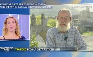Dieta del gruppo sanguigno, Pietro Mozzi da Barbara D'Urso..