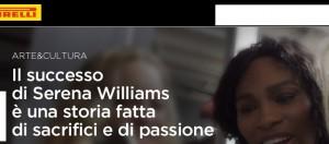 """Serena Williams: """"Dedico al tennis anima e corpo"""