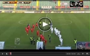 Pontedera-Ancona Sportube: streaming diretta live su Blitz