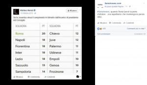 Matteo Renzi e il tweet bufala su dimissioni per la Juventus