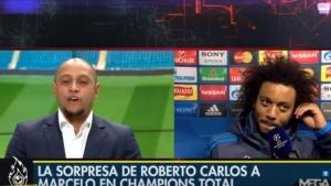 C'è Roberto Carlos, Marcelo quasi in lacrime