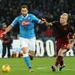 Roma-Napoli in diretta su BlitzQuotidiano (foto Ansa)