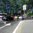 Roma, bus perde olio per 1 km16