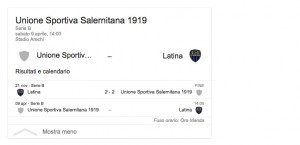 Salernitana-Latina, streaming-diretta tv: dove vedere Serie B