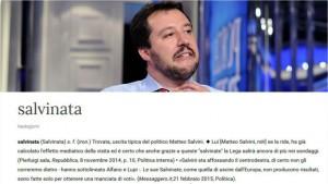 """Matteo Salvini, nella Treccani spunta il termine """"salvinata"""""""