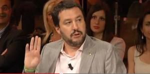 Guarda la versione ingrandita di Salvini l'orso, Renzi la volpe: chi caccia di più in tv?