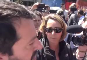 "YOUTUBE Matteo Salvini insultato: ""Razzista"". Lui risponde.."