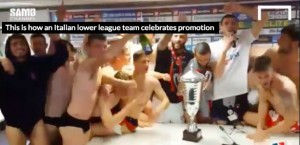 YouTube, Sambenedettese: festa e show in sala stampa per...