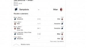 Sampdoria-Milan streaming-diretta tv, dove vedere Serie A