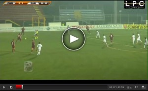 Santarcangelo-Pontedera Sportube: streaming diretta live