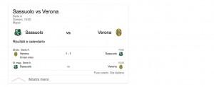 Sassuolo-Verona, streaming-diretta tv: dove vedere Serie A