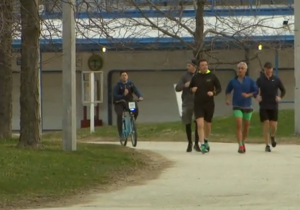 YOUTUBE Matteo Renzi fa jogging con Rahm Emanuel a Chicago