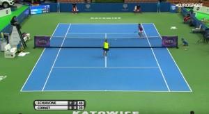 Guarda la versione ingrandita di Tennis, Francesca Schiavone, la volèe torna indietro