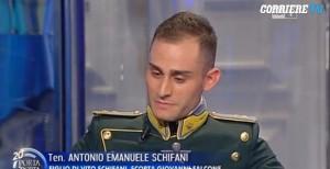 """VIDEO figlio Vito Schifani contro Salvo Riina: """"Che valori?"""""""