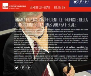 Panama Papers. Cara Ue, su trasparenza fiscale non ci siamo