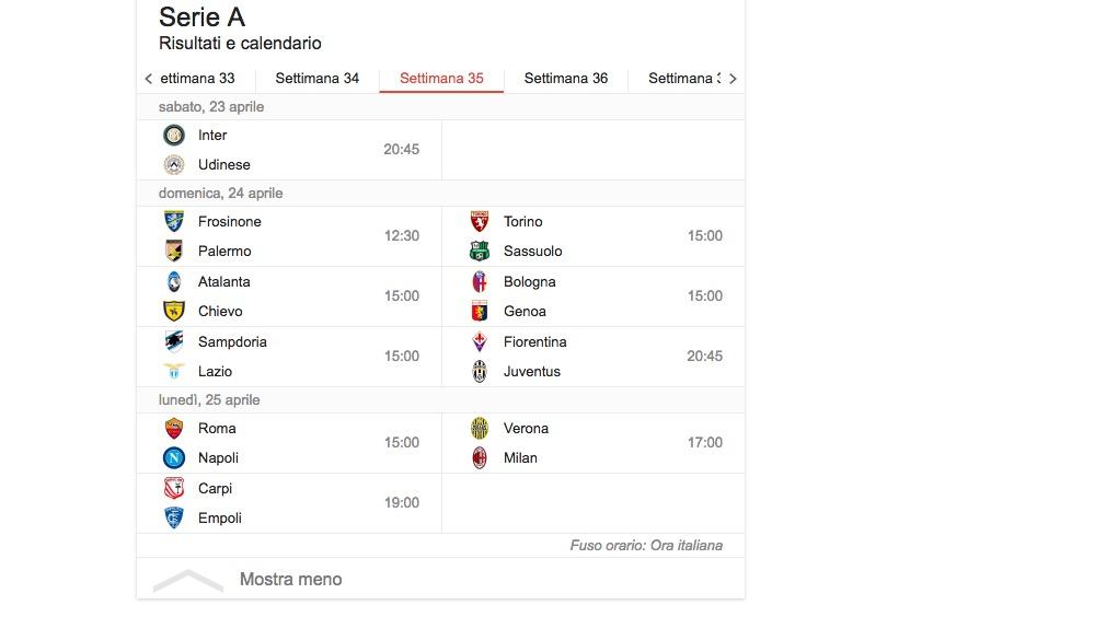 Serie A 35 giornata streaming diretta_7