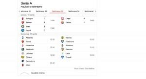 Serie A risultati diretta 33 giornata_7