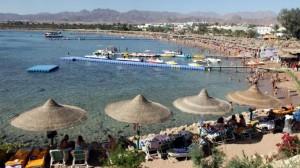 Guarda la versione ingrandita di Egitto, basta turisti italiani? Lista nera dopo caso Regeni (nella foto Ansa, un resort a Sharm el Sheik)