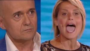 Simona Ventura e Alfonso Signorini