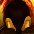 VIDEO YOUTUBE Simulatore morte e cremazione: costa solo...