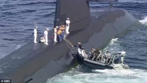 Sottomarino giapponese torna a Sydney5