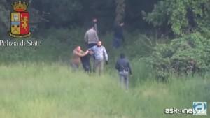 VIDEO YOUTUBE Milano, spaccio di droga al parco: 4 arresti