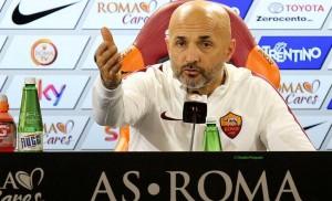 """Spalletti: """"Tutto ok con Totti. Dzeko, tempo scaduto"""""""