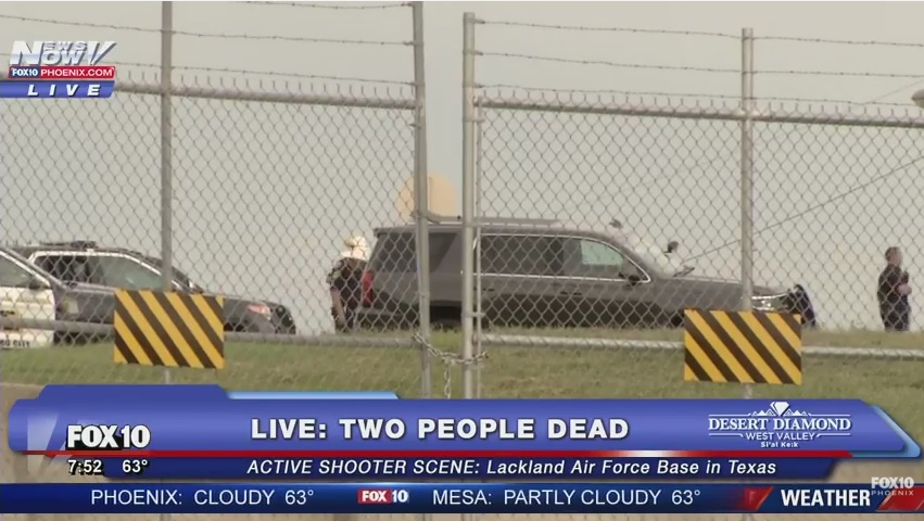 YOUTUBE Texas, sparatoria in base militare: 2 morti DIRETTA