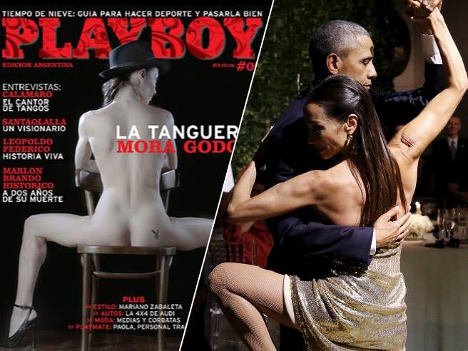 """YouTube Obama balla tango: ballerina è una ex """"coniglietta""""3"""