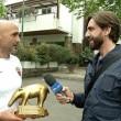 Roma: Totti-Spalletti, pace, cena insieme e Tapiro d'Oro