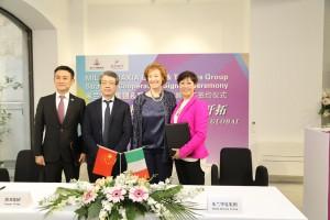 Guarda la versione ingrandita di Milano: accordo Tempus-Milan Huaxia, ponte tra Cina e Italia