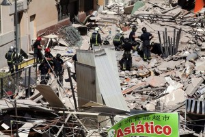 Crollo a Tenerife, due italiani dispersi e uno ferito