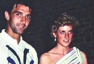 """Tennista serbo: """"Lady Diana e io ci siamo amati, era l'87"""""""
