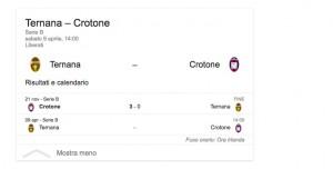 Ternana-Crotone, streaming-diretta tv: dove vedere Serie B