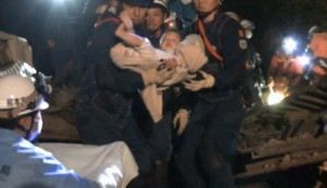 Terremoto Giappone, salvata bimba di 8 mesi da macerie FOTO