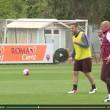 Totti e Spalletti, sorrisi in allenamento dopo lite Bergamo4