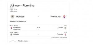 Udinese-Fiorentina, streaming-diretta tv: dove vedere Serie A