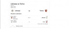 Udinese-Torino, streaming-diretta tv: dove vedere Serie A