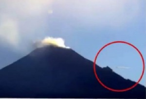 """YOUTUBE """"Ufo sul vulcano"""": video misterioso dal Messico"""