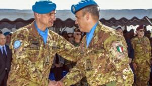 Unifil, cambio al comando: subentra la Brigata Sassari