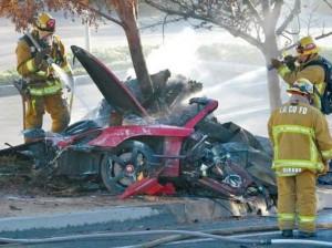 """Guarda la versione ingrandita di Paul Walker, morte """"non causata da problemi Porsche"""""""