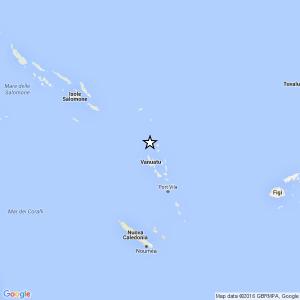 Terremoto Vanuatu, scossa del 7,2 e allerta tsunami