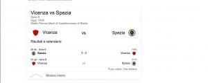 Vicenza-Spezia, streaming-diretta tv: dove vedere Serie B