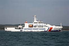 La guardia costiera vietnamita