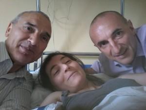 Guarda la versione ingrandita di Vincenza Sicari, maratoneta immobilizzata da malattia ignota (Foto da Facebook)