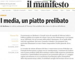 Mediaset, Rcs, Espresso: troppi trust, urge riforma editoria