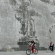 Lungotevere: murales di William Kentridge racconta Roma FOTO