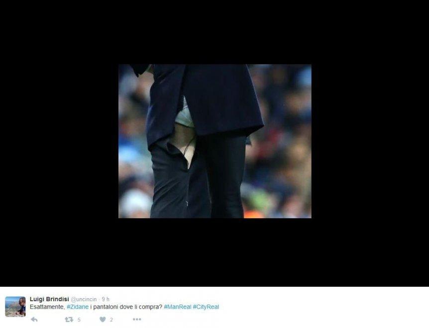 Zinedine Zidane pantaloni srappati 4